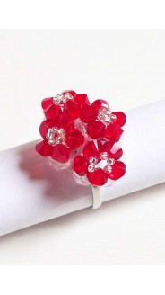 Tetra gyűrű, piros