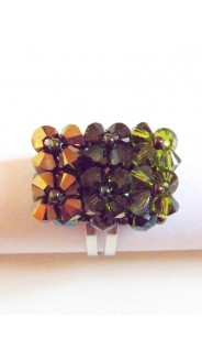 Tégla gyűrű, oliva