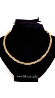 Pandora lánc és karkötő szett, arany